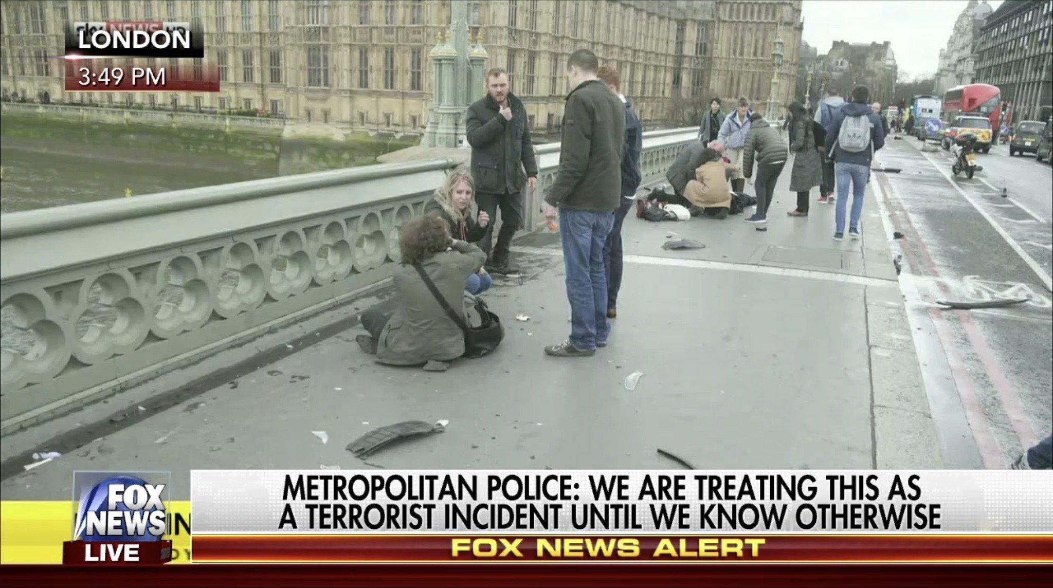 London Attack Mar 22 2017
