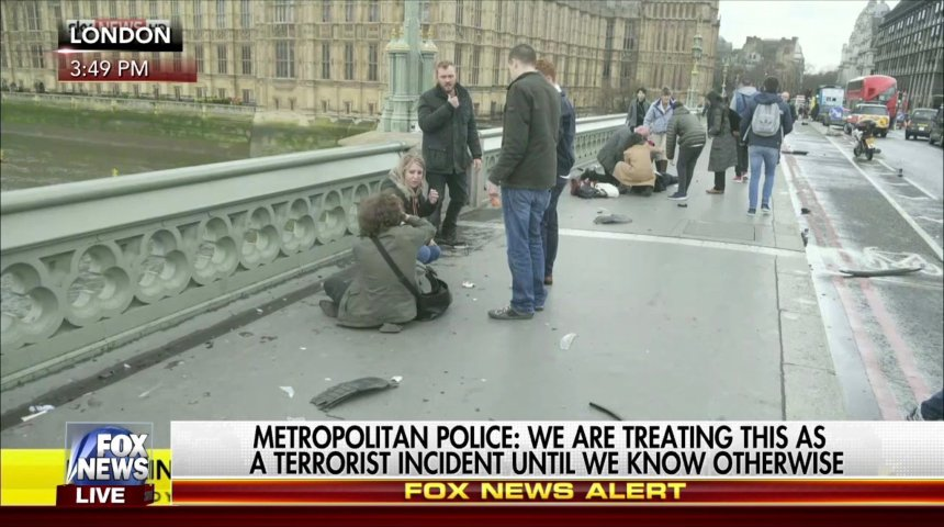 London Attack Mar 22 2017
