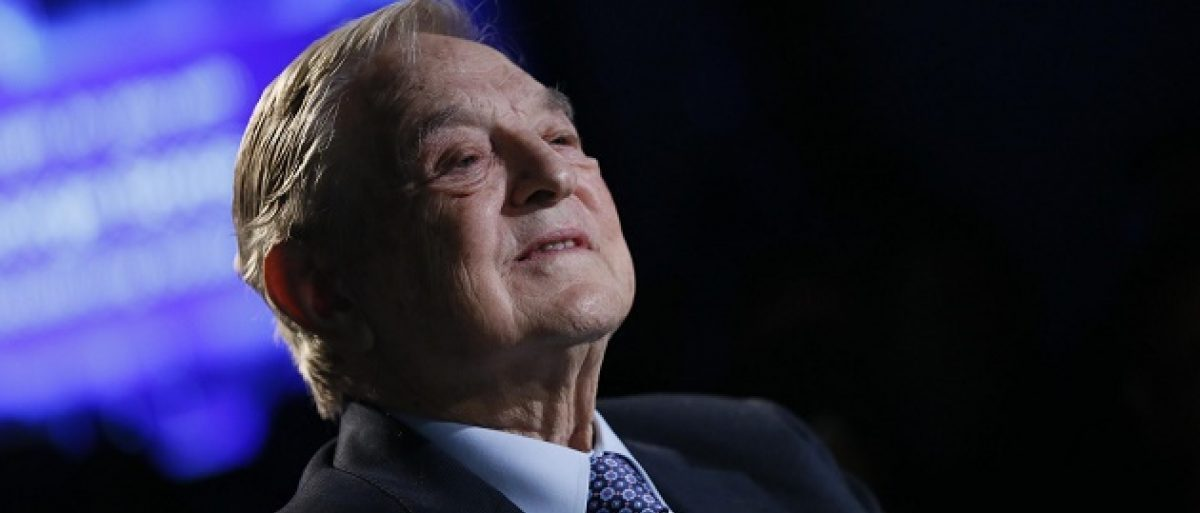 George Soros, sponsor of Psychological Terrorism