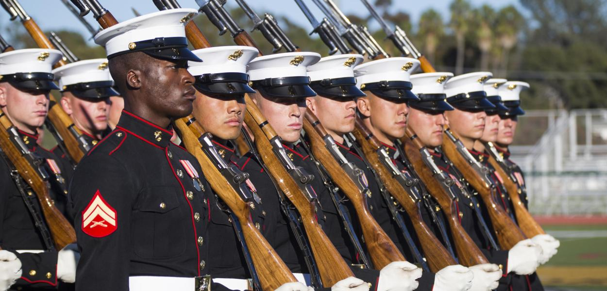 United States Marine Corps - Battle Color Ceremony (Photo: Photo By: Sgt. Tabitha Markovich)